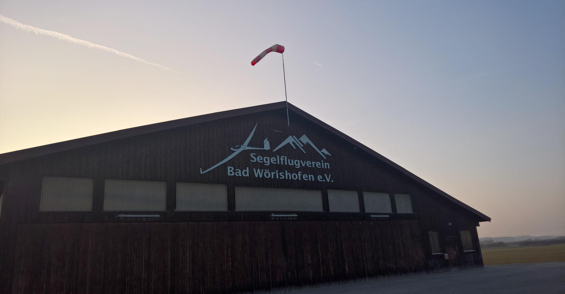Segelflughalle Segelflugplatz Bad Wörishofen