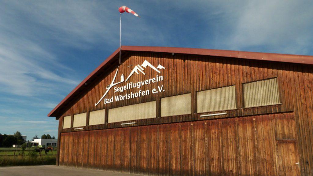 Segelflugplatz Bad Wörishofen Halle